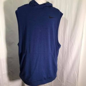 Nike Mens Dri-Fit Sleeveles Leightweight Pullover